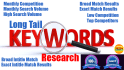do keyword Research and Competitor Research for your niche