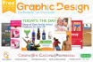 do Creative Graphic Designs with FREE psd