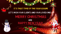 create an Awesome Christmas and New Year Greeting for you