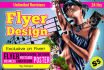 design attractive flyers for you