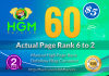 60 Manual DoFollow Blog Comment Actual Page Rank 2 Up To 6