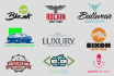 design 2 professional logo in 24 hours