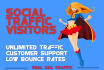drive unlimited SOCIAL american traffic visits