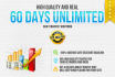 drive 1 month UNLIMITED Real Traffic
