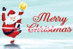 create Awesome Santa Claus Merry Christmas Intro