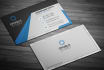 do professional business card with logo