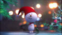make a snowman christmas video greeting intro
