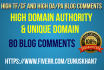 do 80 high trust flow and citation flow backlinks