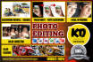 retouch your photos or do any photo editing work