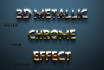 turn Logo or Text Into 3D Metallic Chrome Effect