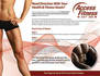 create fitness training flyers, brochures ads, banners