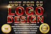 do unique Logo design