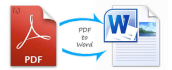 convert pdf and word files for you