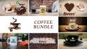 do coffee bundle mock up videos