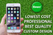 make awesome professional iPhone iOS app for you