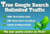 add True Google Search Optimized Unlimited Traffic