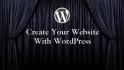 create website with wordpress
