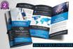 design Professional Leaflet bifold flyer poster brochure 4hrs