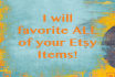 favorite ALL items in your Etsy shop
