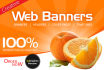 do web Banners, Headers and Time lines