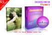 design an amazing cd DVD cover,label, software box
