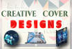 do book covers, movie posters and flyers