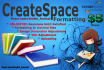 manually Format Your Book for CreateSpace