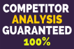 do Top 3 Competitors Analysis for Your Business grow Up