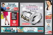 design AMAZING Banner Ads, Website Headers for you