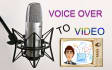 create an awesome promo video based on your voice over file