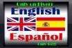 translate English to Spanish TODAY
