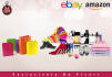 design banner ads and edit products for amazon and ebay