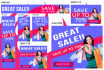 design 20 dimensions high quality web ad BANNERS