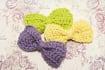 crochet you adorable hair bows