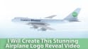 create this Stunning PLANE logo reveal video Intro