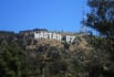 write your message on Hollywood Hills