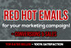 write red hot emails that converts to sales