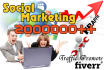 promote Ur Links,video,anything over 2000000 fans Facebook and twitter in 24 HRs