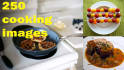 give 250 cooking images for a website,landing page, blog