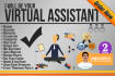 be your Virtual Assistant for data and research work
