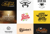 design BEST logo with repetitions