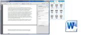 make your text on pdf, word office, and mp3