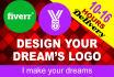 do Professional, Unique, Text, Modern, vintage logo
