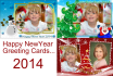 make you Christmas or New year greeting card