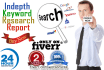 do SEO friendly keyword research for any niche