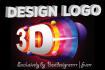 design 3D logo in 24 Hours