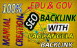 get you 20 edu and gov with 30 angela backlink