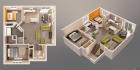 create professional 3D sketch up from Floor Plan the fastest