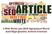 write 500 SEO Optimized Word Article Content