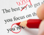 proofread your resume and cover letter